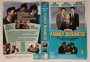 Family Business [Cover/Sleeve Only] VHS 1989 Sidney Lumet Roadshow Home Video
