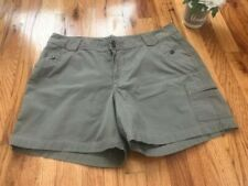 Women's Rider Taupe Shorts. Size 18