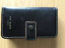TED BAKER LEATHER POUCH CASE IPHONE 3G/3GS 4,4S BLACKBERRY STORM 2 STORE CARDS