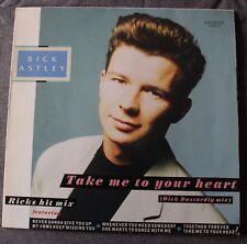 Rick Astley, take me to your heart, Maxi vinyl