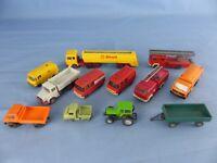 WIKING lot de 12 vehicules 1/87 Ho pour décor réseau train électrique ou diorama