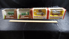 2 Farm Classics And 2 Ertl Vintage, Manure Spreaders & Flare Box Wagons Toys A8