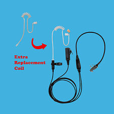 Government Agency Earpiece for ICOM IC-F4062 IC-A4 IC-A5 with Extra Coil