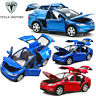 Tesla Model X SUV 1:32 Scale Diecast Model Car Toy Sound&Light Collection Gift