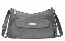 Baggallini Everyday Crossbody Bag in Pewter Cheetah w/Mimosa Interior (SALE!)