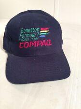 formula 1 - BENETTON / COMPAQ FORMULA 1 RACING TEAM CAP, adjustable