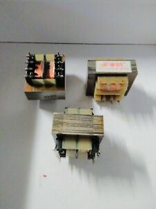 Transformateur  220v - 12v - 4 VA              Lot de 3 pieces