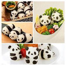 Sushi Rice Ball Mold Onigiri Mould Nori DIY Maker Bento Home Tool Panda Shape