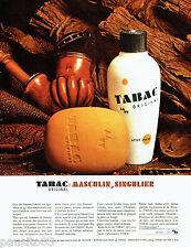 PUBLICITE ADVERTISING 036  1965  Tabac Original   savon after-shave