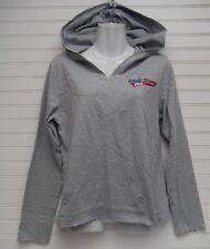 Walt Disney World Women's Gray V-Neck Hooded Pullover Size M