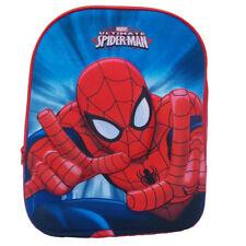 SPIDERMAN HOMME ARAIGNÉE sac à dos école maternelle sac à dos bleu/rouge avec