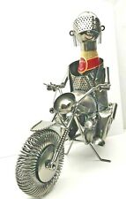 Motorcycle Wine Bottle Holder and/or Decorative Sculpture Motorcycle NEW