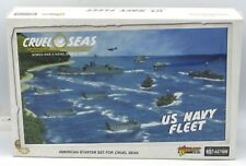 Cruel Seas 782611002 US Navy Fleet (American Starter Set) WWII Ships Warlord NIB
