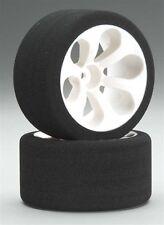 JACO 2040LP Low Profile Foam Rear Tires (Pink)