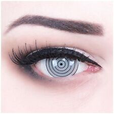 Colored Contact Lenses Rinnegan Carnival Halloween grey black Circular