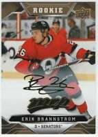 2019-20 Upper Deck MVP Hockey Gold Script #227 Erik Brannstrom Senators