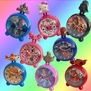 Wecker Kinderwecker Kinder Lernwecker Frozen StarWars Minnie Disney Cars  TMK