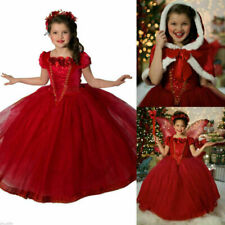 Girls Froze Elsa Anna Dresses Kids Costume Princess Party Fancy Dress with Cape