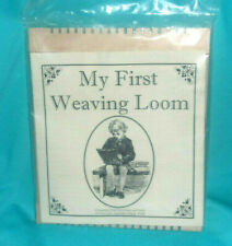 My First Weaving Loom Kit American Folk Toys, Games and Crafts New Unopened