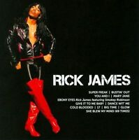 RICK JAMES Icon CD BRAND NEW Best Of Compilation