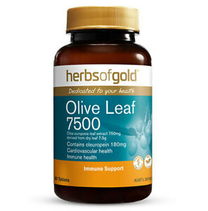 Olive Leaf 7500 by Herbs of Gold 60 tabs
