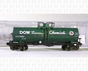 Atlas N Single Dome Tank Car Dow Of Canada CGTX