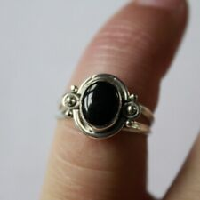 Antique Elegant Ring SILVER 925 with Natural Stone SIZE 7 #S080