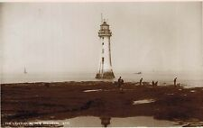 RPPC,New Brighton,U.K.Light House,Merseyside,c.1909
