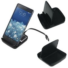 Desktop Dock Spare Battery Charger Sync For Samsung Galaxy Note Edge Nice