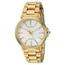 Reloj de Pulsera Citizen FE7032-51D para Mujer de Oro Amarillo Chandler