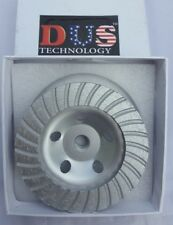 4 in. Diamond Turbo Cup Wheel x M14 (METRIC) Thread - CLEARANCE