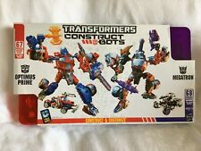 TRANSFORMERS Construct Bots OPTIMUS PRIME & MEGATRON 2 Pack Ultimate Class 135PC