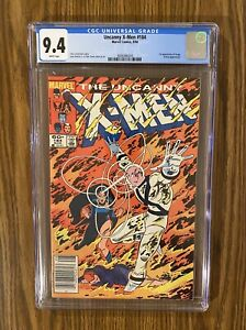 UNCANNY X-MEN #184 CGC 9.4  NEWSSTAND 1st Appearance Of Forge Selene 🔥 🔑 WP!