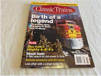 Classic Trains Birth of a Legend Winter 2008 (Lot 202M)