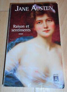 Jane Austen «Raison et sentiments» (Archipoche, 2012)