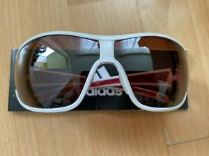 adidas Sportbrille tycane pro L a189 6052 weiß rot LST polarized
