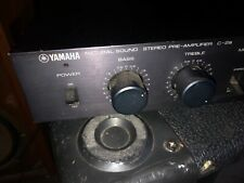 Yamaha Natural sound stereo Pre-Amplifier C-2a