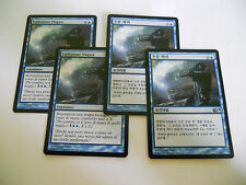 4x MTG Controllo Mentale-Mind Control Magic EDH M11-M12 Ed Base ITA-ING x4