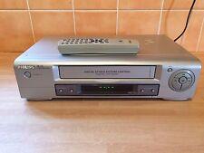 **BARGAIN** PHILIPS VR130 VHS VIDEO VCR PLAYER/RECORDER - ORIGINAL REMOTE