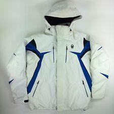 Spyder Rival Men's Hooded Ski Jacket Coat Thinsulate Spylon XTL 20.000mm NICE!