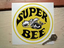 DODGE SUPER BEE 6 inch round Classic Car Sticker