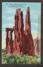 RUINS OF MONTEZUMA'S TEMPLE * GARDEN OF THE GODS * CO *