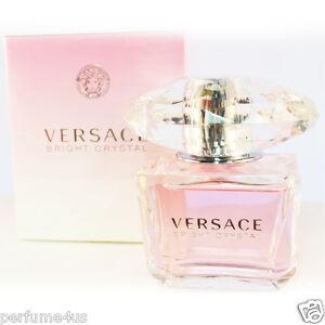 Versace Bright Crystal 3.0oz ~90 ML  Women's Eau de Toilette New In sealed Box