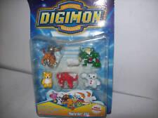DIGITAL  DIGIMON   SERIE III  5 PERSONAGGI da 4 CM