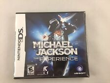 Michael Jackson: The Experience (Nintendo DS, 2010) Brand New