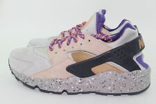 "NIKE AIR HUARACHE RUN PREMIUM ""MOWABB"" MEN 7.5 NEW SUPER RARE COLOR COMBO"