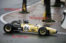 Ronnie Peterson Squadra Robardie Tecno 68 Monaco F3 1968 Photograph 1