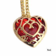 The Legend of Zelda Skyward Sword Heart Container Necklace Chain Pendant Anime