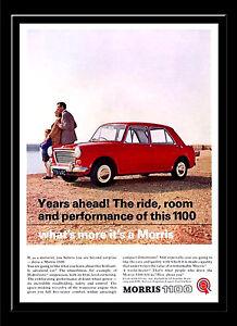 A3 - Wall POSTER Print Art Vintage Retro - Austin 1100 Car Advert 1960s  #1