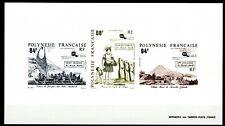 Polynésie Epreuve de Luxe 1991 Yvert 379/381 Le Monde Maori (II) Collective